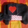 Plush Elephant HELGO - ready for stuffing