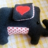 Plush Elephant HELGO - done!
