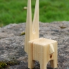 "HOPP 3"" Wood Toy"