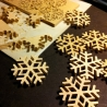 SNOW STAR - maple wood decoration