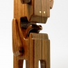 WALNUTI - 4 inch Wood Toy by Pepe Hiller